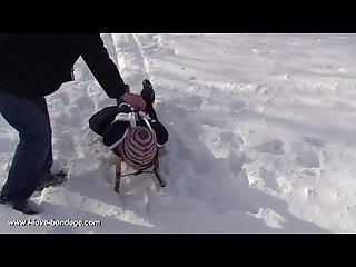 Bondage sledding
