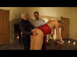 German blonde slave part 1