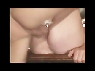 Young boy and the horny mature lady likes sex