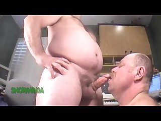 Military men navy chief blowjob cum