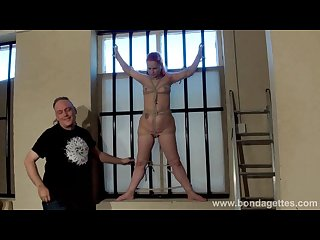 Redheads amateur bondage and kinky domination of enslaved private damsel
