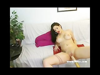 Busty latina sex machine webcam