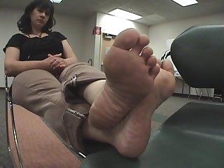 Smelly mom feet
