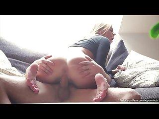 Leony April has a sexy ass