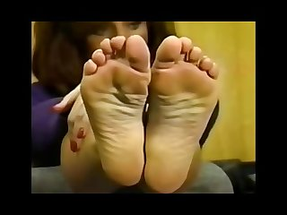 Beautiful retro feet