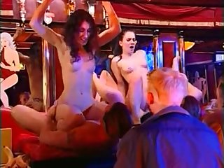 Shameless slut sibel fucks for cash in sex club