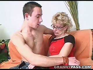 Granny slut wants young dick