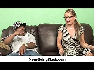 Hot MILF fucked by black monster 22