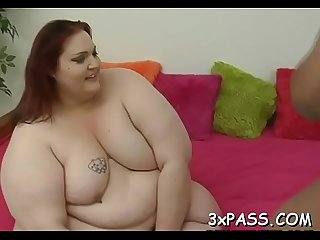 Sex with older plump