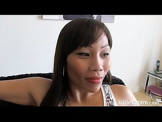 Asian cum party cum slut gangbanged