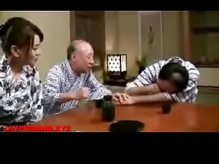 Lonely jav Wife fucked by father in law