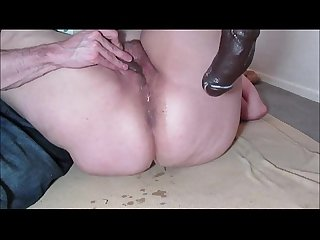 Making a Fat Amateur MILF Squirt with a Sextoy