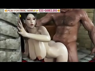 Hard brutal man fuck korean Girl with big tits in best porn game excl