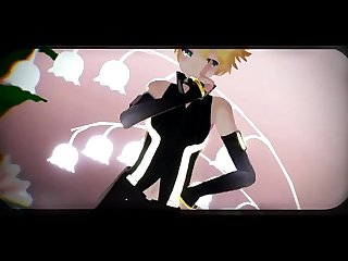 mmd gay len kagamine hot pole dance