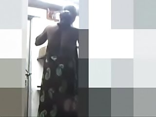 Desi maid changing