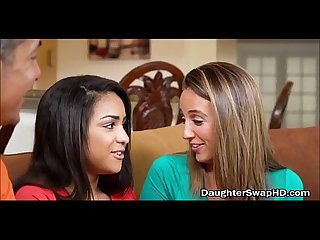 Two dad s agree to fuck each others hot teen daughters daughterswaphd com