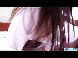 Smashing porn show along schoolgirl�Riko Masaki�