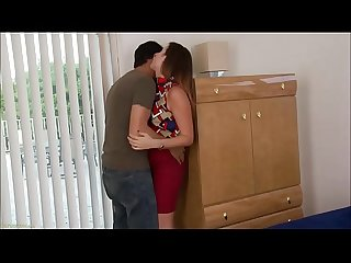 Hot mature whore takes thick hard rod