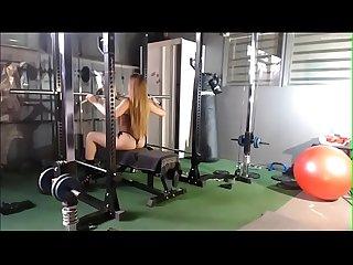 Dutch olympic gymnast workout video