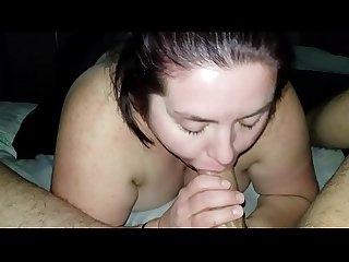 Sexy BBW The Cock Gobbler