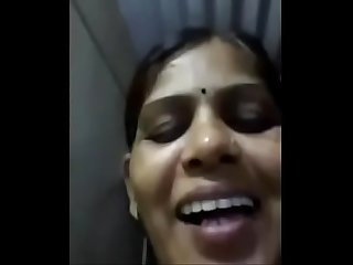 Indian Aunty Selfie video