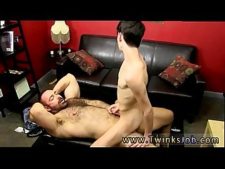 Mature gay male Hairy Ass licking while riding that Cock comma benjamin