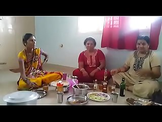 Village aunties enjoying party with wine than fucking with her husbands hd