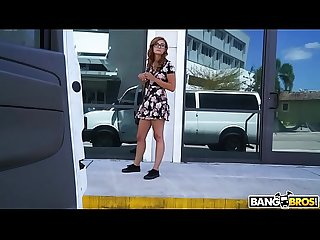 BANGBROS - Helping Out A Young Redhead Out Of Towner Named Kadence Marie