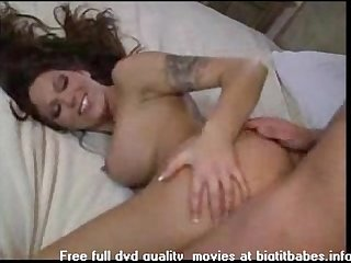 Brunette tattoo anal part 2