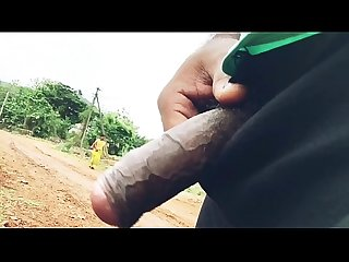 Dick flash to desi aunty
