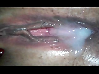 Guccipussy bbw gets creampied by big cock