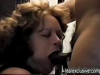My first black cock and playing with cum