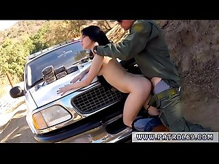 Fake cop blonde outside Xxx bp caught her comma so she deepthroated the