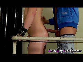 Gay stud man sex galleries free chained to the railing youthful and