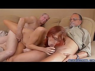 Horny hot zara ryan sucking large massive dick