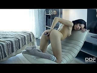 Teen Sex Goddess Sheri V fucks herself to Orgasm