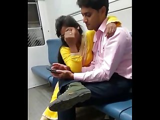 Desi girl in train