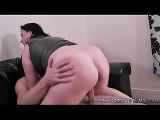 Fat british skank anal