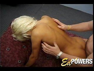 Kary Evers Sucks Ed's Cock