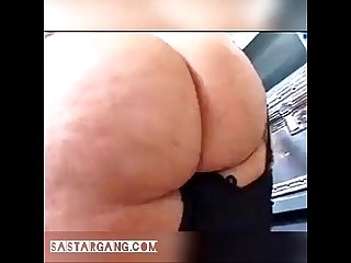 Beautiful braziian w huge ass get fucked in back room
