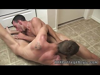 Teen gay feet sex i M in the kitchen with lucky and caiden period lucky is
