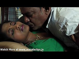 Telugu bhabhi hot romance with old man video