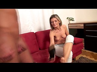 Hot blowjob by my stepmom