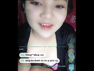 Super cute vietnamese teen live bigo