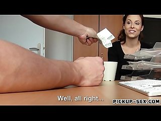 Czech babe Antonia Sainz banged for cash