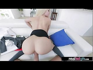 lpar elsa jean rpar gorgeous Girlfriend perform hard style on tape Movie 14