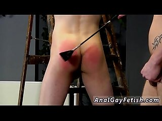 Suit and tie bondage gay Dan Spanks And Feeds Reece