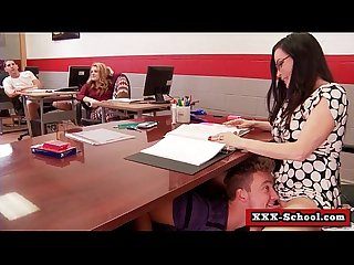 Big tits teacher fucked at school 09