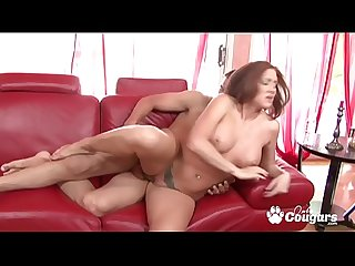 Redhead Morgan Reigns Picked Up On The Street And Nailed By A Hard Boner