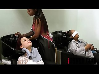 Sarah banks comma Sabina rouge in full service hair salon